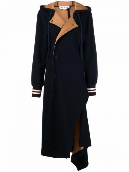 Niebieska kurtka wełniana Monse