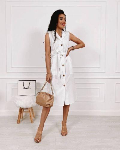 Льняное платье - белое Remise Store