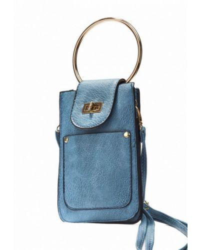 Голубая кожаный сумка Nothing But Love