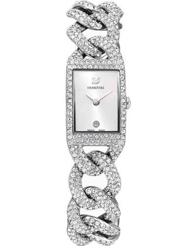 Часы серебристые - серые Swarovski