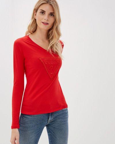 Джинсы mom красный Guess Jeans