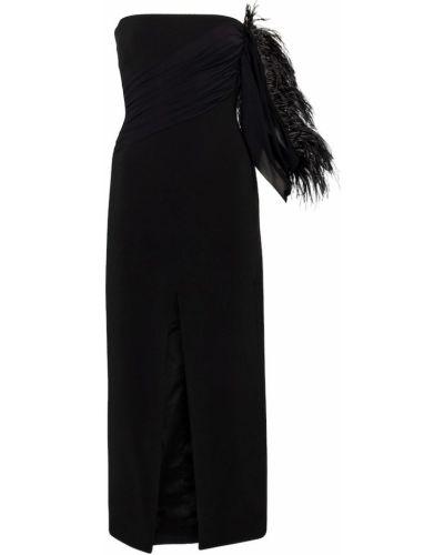 Платье миди - черное David Koma