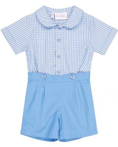 Niebieska koszula bawełniana Rachel Riley