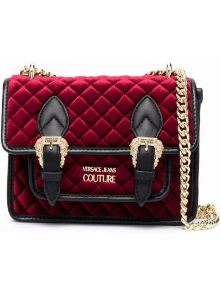 Сумка через плечо из полиэстера - красная Versace Jeans Couture