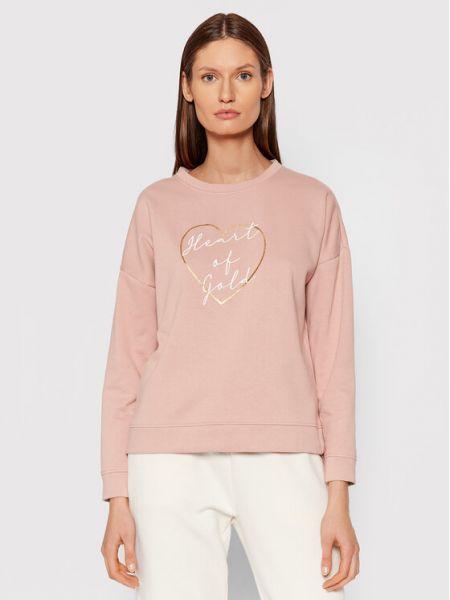 Bluza - różowa Vero Moda