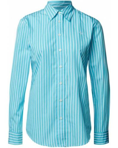 Bluzka koszulowa - turkusowa Lauren Ralph Lauren