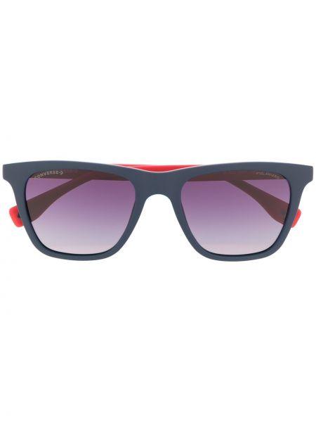 Прямые солнцезащитные очки квадратные хаки Converse