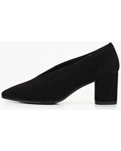 Туфли на каблуке замшевые Vagabond