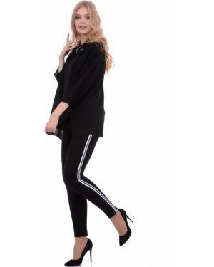 Классические брюки на резинке с поясом Lautus