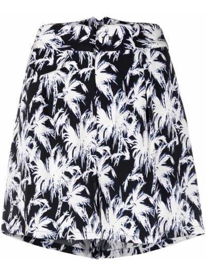 Белые шелковые шорты Dvf Diane Von Furstenberg