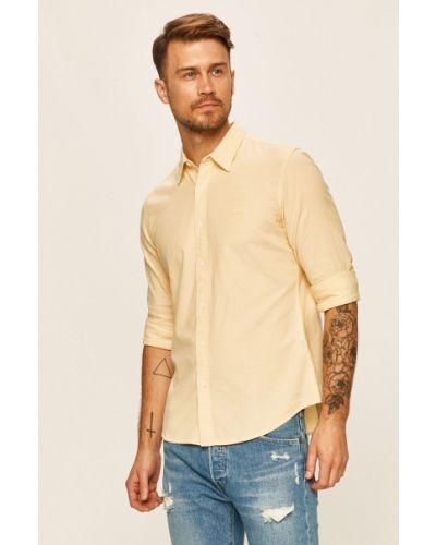 Koszula slim bawełniana z długimi rękawami casual Levi's