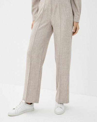 Повседневные бежевые брюки Lorani