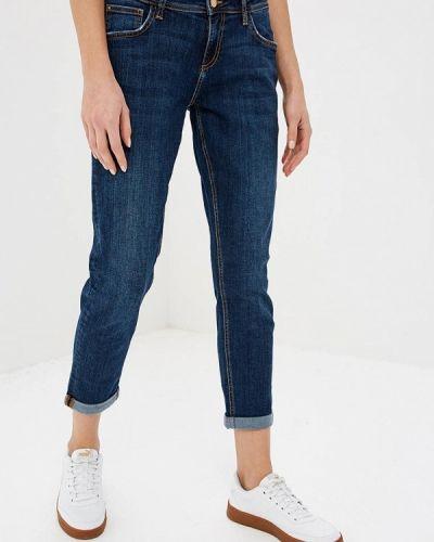 Синие джинсы-скинни Colin's