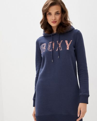 Синее платье Roxy