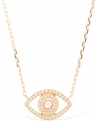 Biały złoty naszyjnik z diamentem Netali Nissim