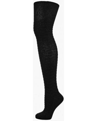 Черные гетры Calzedonia