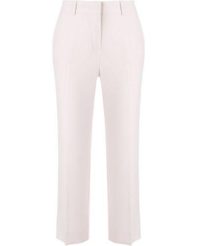 Укороченные брюки розовый Max Mara Studio