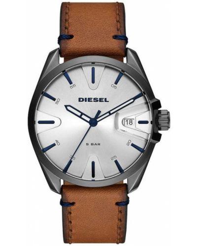 Zegarek kwarcowy skórzany klamry Diesel