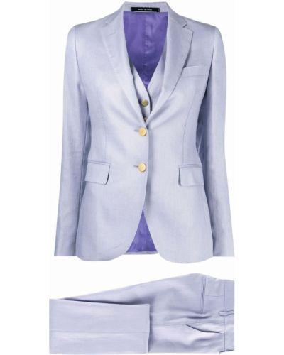 Złoty garnitur - fioletowy Tagliatore