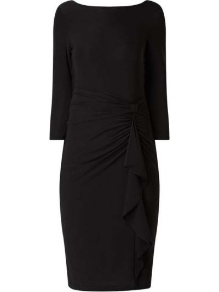 Sukienka z wiązaniami - czarna Ilse Jacobsen