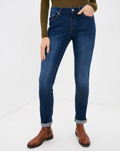 Синие джинсы-скинни узкого кроя Q/s Designed By