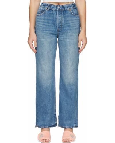 Джинсовые прямые джинсы - синие Alexander Wang