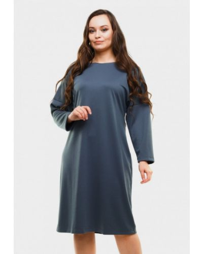 Платье миди - серое Magwear