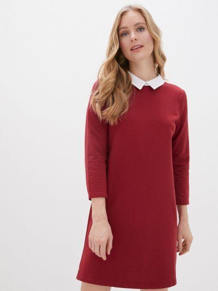 Платье бордовый на тонких бретелях Nothing But Love