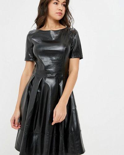 Платье кожаное осеннее Trendyangel