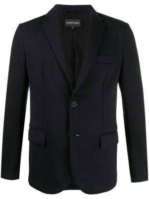 Однобортный классический пиджак Emporio Armani