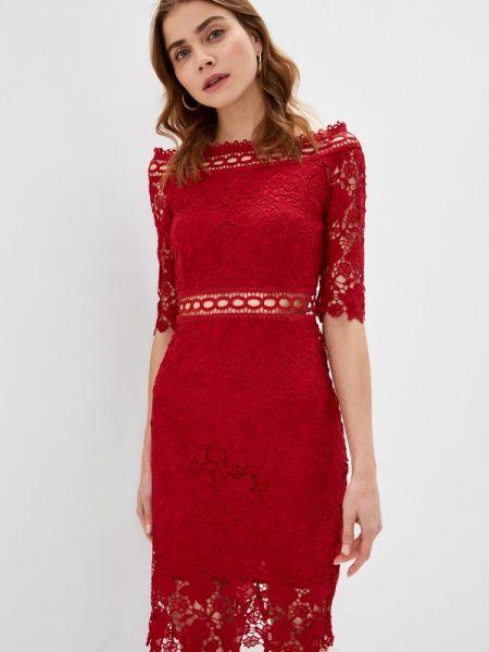 Вечернее платье - красное Liana