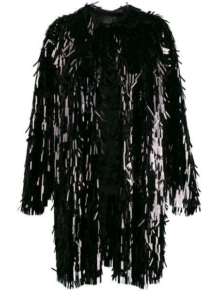 Пальто с пайетками пальто-тренч Norma Kamali