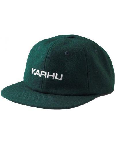 Zielona czapka Karhu