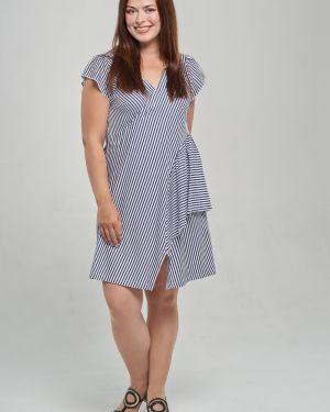 Повседневное с рукавами платье миди Mari-line