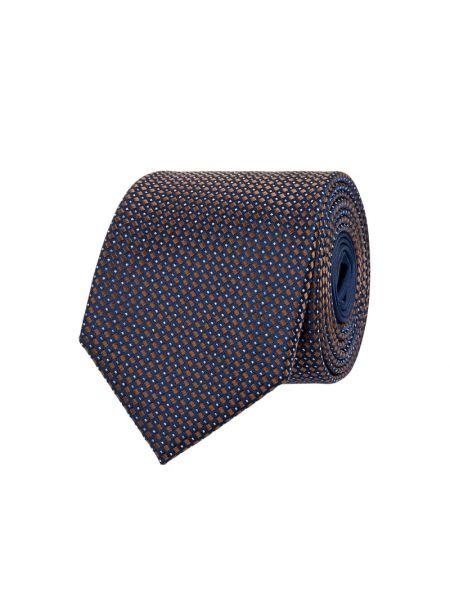 Brązowy jedwab krawat Christian Berg Men