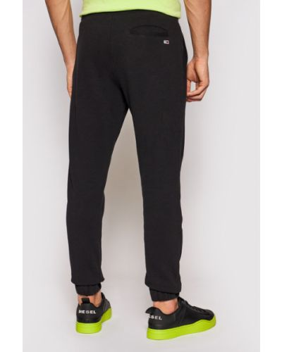 Czarne spodnie dresowe Tommy Jeans