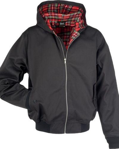 Куртка с капюшоном - черная Brandit