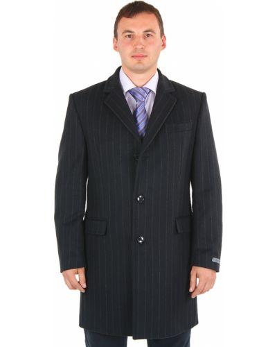 Пальто шерстяное черное Lagerfeld