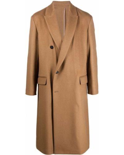 Коричневое кашемировое пальто Costumein