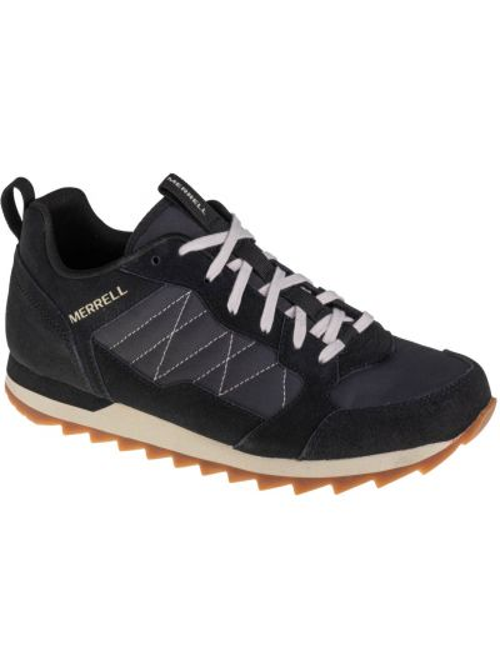 Czarne sneakersy materiałowe Merrell