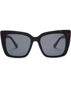 Okulary przeciwsłoneczne czarne Diff Eyewear