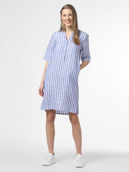 Niebieska sukienka Apriori