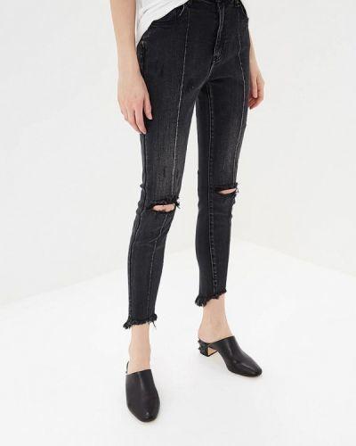 Черные джинсы-скинни One Teaspoon
