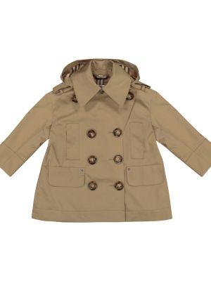 Bawełna bawełna beżowy klasyczny płaszcz Burberry Kids