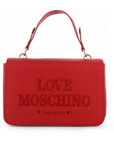 Listonoszka - czerwona Love Moschino