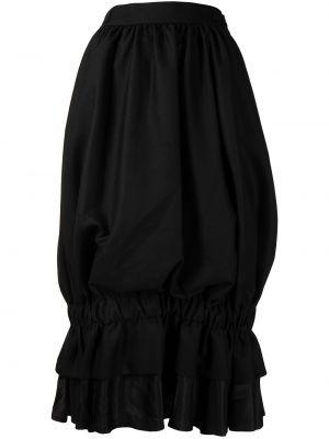 Шерстяная юбка - черная Comme Des Garçons Noir Kei Ninomiya