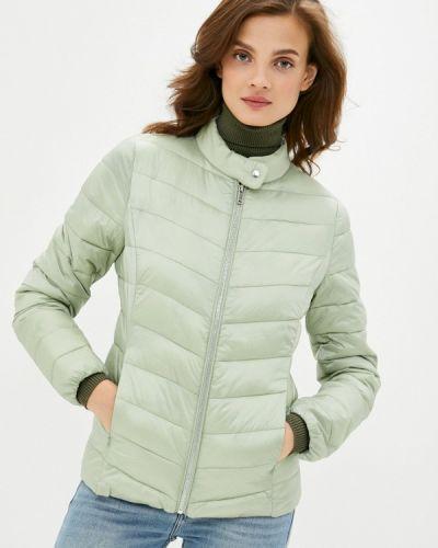 Зеленая утепленная куртка Befree