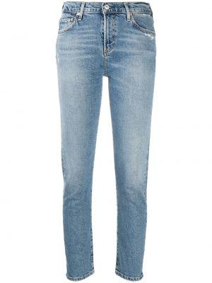 Укороченные джинсы - синие Citizens Of Humanity