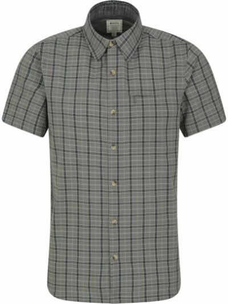 Koszula bawełniana - zielona Mountain Warehouse