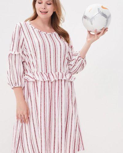 Белое летнее платье Junarose